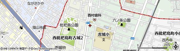 やきとり家美濃路西枇杷島店周辺の地図