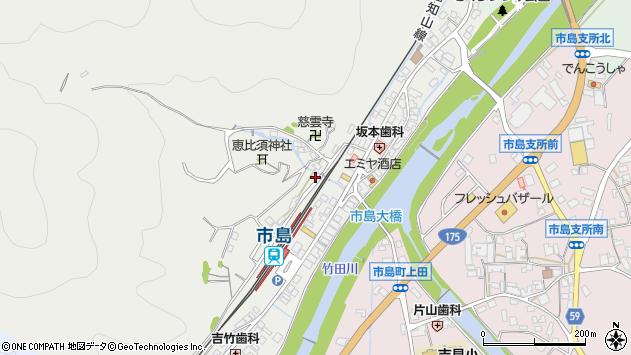 〒669-4324 兵庫県丹波市市島町市島の地図