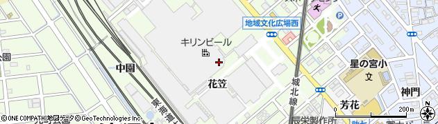 キリンビアパーク・レストラン周辺の地図