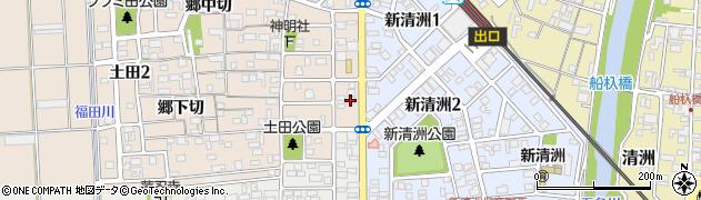 よし田周辺の地図