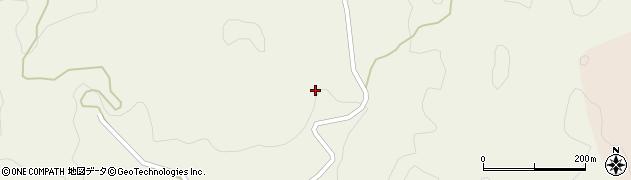 愛知県豊田市大坪町(高能田)周辺の地図