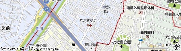 愛知県名古屋市西区あし原町周辺の地図