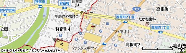 愛知県瀬戸市西原町周辺の地図