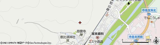 兵庫県丹波市市島町市島周辺の地図