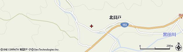 愛知県豊田市黒田町(仲根)周辺の地図