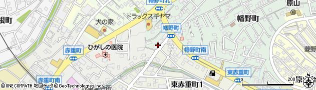 食楽香樹周辺の地図