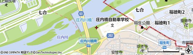 愛知県名古屋市西区稲生町周辺の地図
