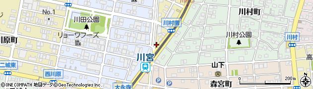 パブラウンジエレファントスクエア周辺の地図