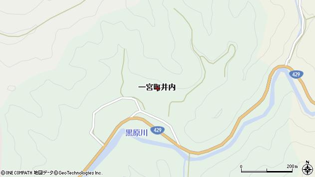 〒671-4104 兵庫県宍粟市一宮町井内の地図