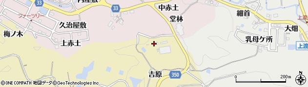 愛知県豊田市北一色町(吉原)周辺の地図