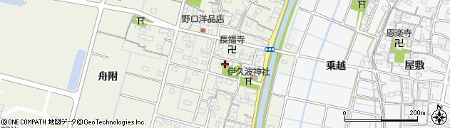 愛知県稲沢市平和町下三宅(郷内)周辺の地図