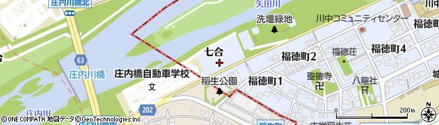 愛知県名古屋市北区福徳町(七合)周辺の地図