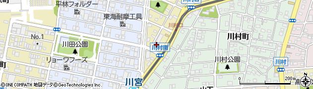 スナックマドンナ守山店周辺の地図