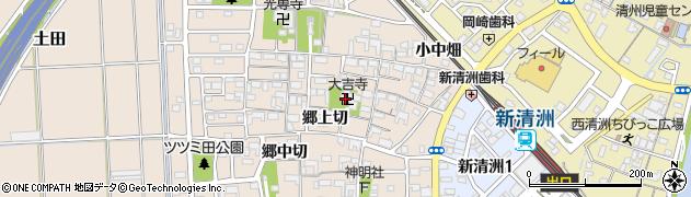 大吉寺周辺の地図