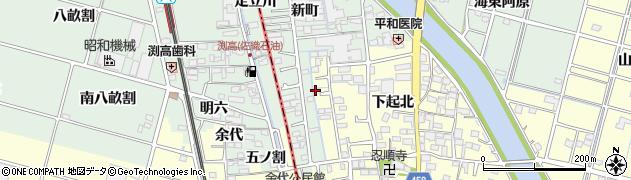 愛知県稲沢市平和町(替地)周辺の地図