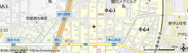 愛知県名古屋市守山区幸心周辺の地図