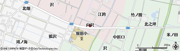 愛知県稲沢市今村町(向沢)周辺の地図