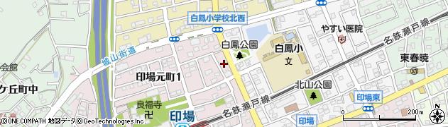 べったんこ周辺の地図