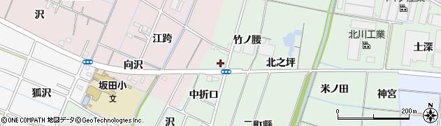 愛知県稲沢市目比町(竹ノ腰)周辺の地図