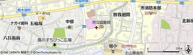 愛知県尾張旭市東大道町(山の内)周辺の地図