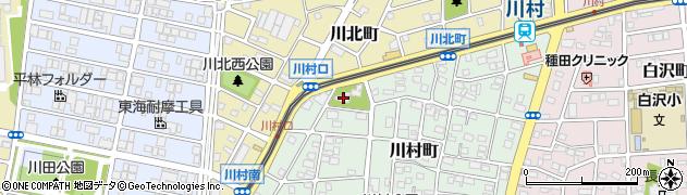 川嶋神社周辺の地図