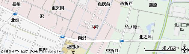 愛知県稲沢市今村町(江跨)周辺の地図