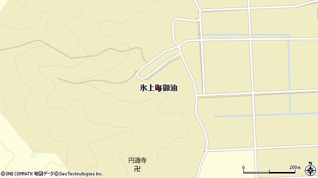 〒669-3633 兵庫県丹波市氷上町御油の地図
