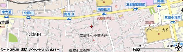愛知県尾張旭市南原山町(赤土)周辺の地図