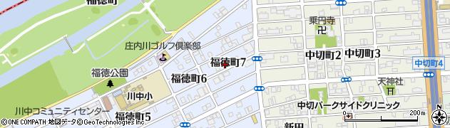 愛知県名古屋市北区福徳町7丁目63周辺の地図