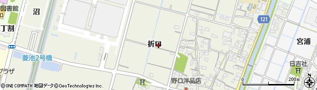 愛知県稲沢市平和町下三宅周辺の地図