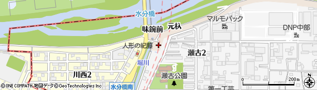 愛知県名古屋市守山区瀬古(元杁)周辺の地図