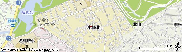 愛知県名古屋市守山区小幡北周辺の地図