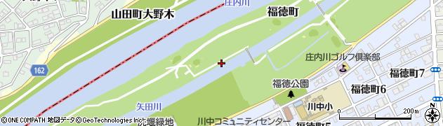 愛知県名古屋市北区福徳町周辺の地図