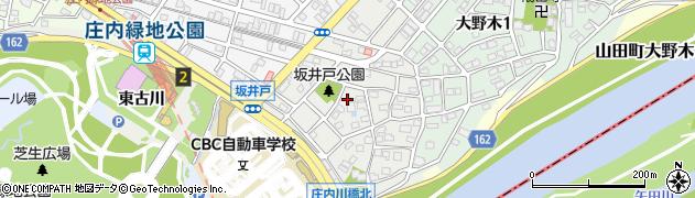 愛知県名古屋市西区坂井戸町周辺の地図