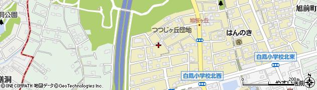 愛知県尾張旭市桜ケ丘町(西)周辺の地図