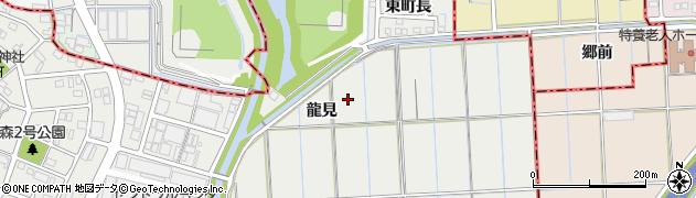 愛知県あま市森(龍見)周辺の地図