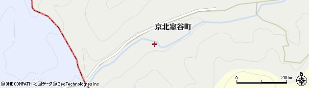 京都府京都市右京区京北室谷町(下ノ切)周辺の地図