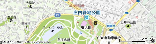 愛知県名古屋市西区山田町大字上小田井(東古川)周辺の地図