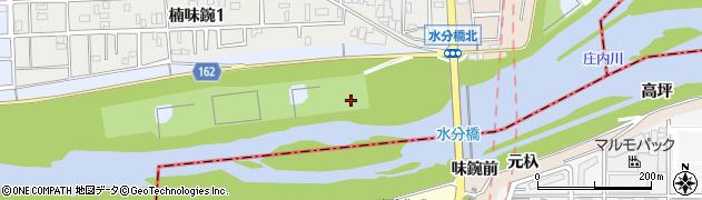 愛知県名古屋市北区楠町周辺の地図