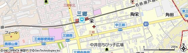 炉ばた焼都周辺の地図