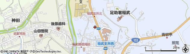 愛知県豊田市稲武町(中シモ田)周辺の地図