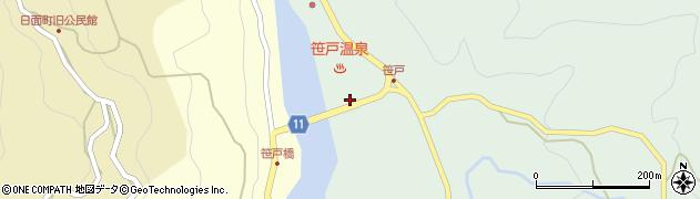 愛知県豊田市笹戸町(惣作)周辺の地図
