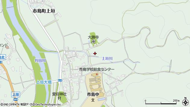 〒669-4321 兵庫県丹波市市島町上垣の地図