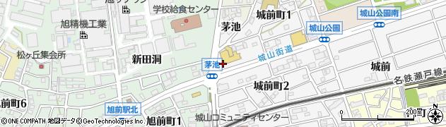 丸忠寿司丸忠ナフコ尾張旭店周辺の地図