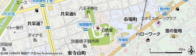 慶昌院周辺の地図