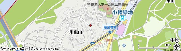 愛知県名古屋市守山区川東山周辺の地図