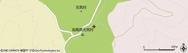 愛知県豊田市旭八幡町(根山)周辺の地図