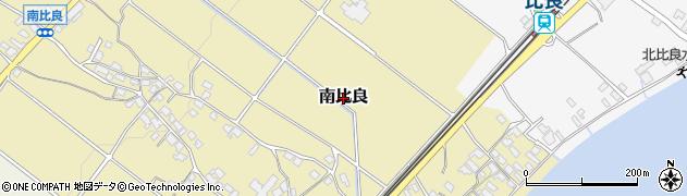 滋賀県大津市南比良周辺の地図