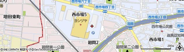 株式会社デリカスイト 清洲店周辺の地図