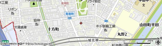 愛知県名古屋市西区見寄町周辺の地図